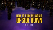 How to Turn the World Upside Down