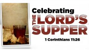 Celebrating the Lord's Supper