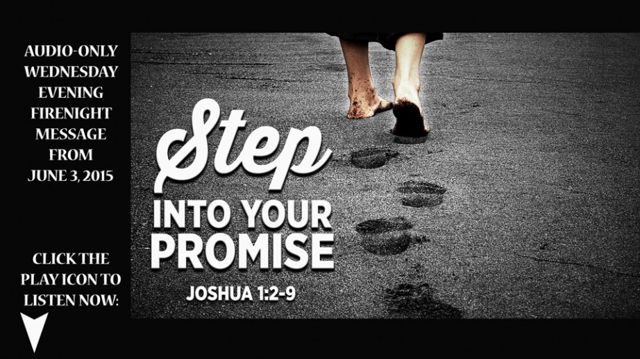 Step Into Your Promise Image
