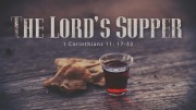 The Lord's Supper & Healing Service from June 28, 2015