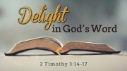 Delight in God's Word