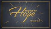 The God of Hope