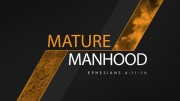 Mature Manhood