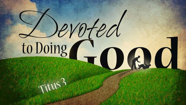 Devoted to Doing Good