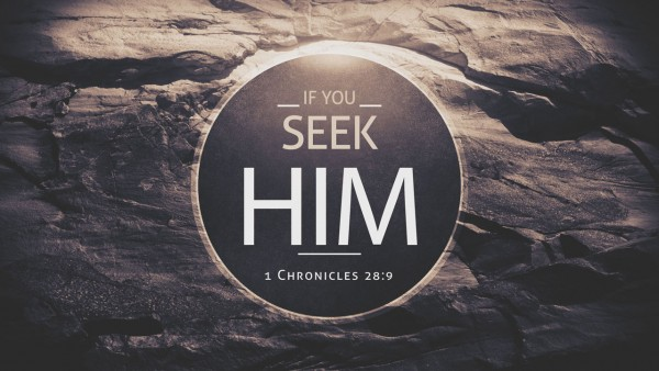 If You Seek Him